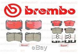 Brembo Avant Et Arrière Plaquettes De Frein Acura Tl Type-s Avec Bembo Système De Freinage