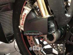 Carbonvani Ducati Panigale V4 Carbone De Frein Avant CV Système Cooler