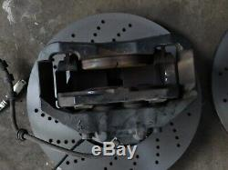 D'origine Bmw M5 E60 E61 E63 E64 M6 Frein Système De Freinage Étrier De Frein Avant Disques