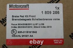 Disques De Frein D'origine 11 13 / 16po + Plaquettes De Frein Avant Ford Focus 1520297+ 1809256
