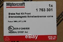 Disques De Frein D'origine + Plaquettes De Frein Ford Focus Mk1 1808479+ 1763301