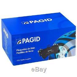 Fits Bmw X4 F26 Pagid De Frein Avant Kit 2x Disque 1x Plaquettes Coated Système Bosch