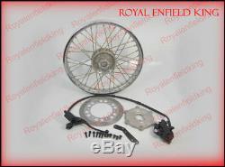 Frein Avant À Disque Kit D'assemblage Système Avec Roue À Disque Pour Royal Enfield Bikes Bsa