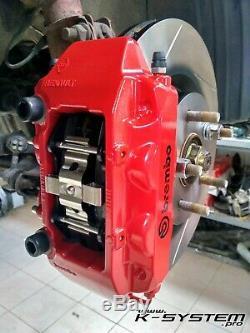 K-system. Honda Pro VII & VIII Accord / 02-15 Brembo 4-pot 324x30 Big Frein