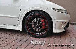 K-system. Pro Honda CIVIC Ep3 ​​/ Fn2 Type-r Brembo 4-pot 324x30 Big Frein