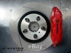 K-system. Pro Honda S2000 Brembo 4-pot 324x30 Big Frein Bbk