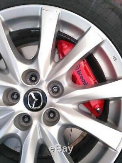 K-system. Pro Mazda 6 Gj / Gl 2012+ Brembo 4-pot 324x30 Big Frein