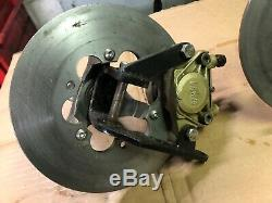 Kart Avant Système De Freinage, Brembo Fusées Hubs + Nouveau Disques Buggy Quad