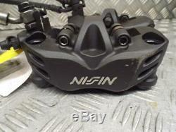 Kawasaki Zzr1400 Ninja 2006-11 Paire De Frein Avant Nissin Calibres Et Système Flexible