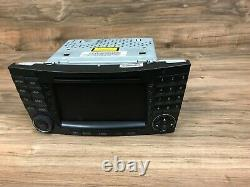 Mercedes Benz Oem W211 W219 Front Navigation Radio Stereo Map Headunit System 3