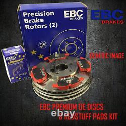 Nouveau Ebc De Frein Avant Et Disques Redstuff Pads Kit Oe Qualité Pd02kf046