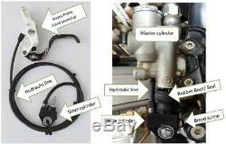 Ox-brake Hydra Gauche Système De Freinage Arrière À La Main Lhrb Ktm 450
