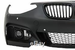 Pare-chocs Avant Pour Bmw Série 1 F20 F21 Avec 11 À 08,14 Brouillard M2 M235 Conception