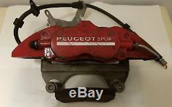 Peugeot Rcz-r / 308 Gti Alcon Freinage Avant Système Incl. Rotors