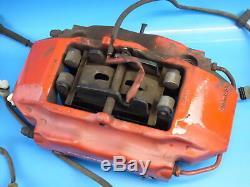 Porsche Boxster S 3.2 986 191 Kw 2003 Système De Freinage Étrier Rouge Avant + Arrière