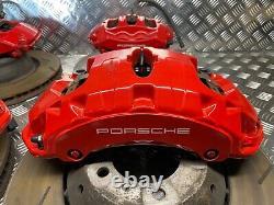 Porsche Panamera Turbo 970 2015 Complète Du Système De Freinage Brembo Et Disques Calibres