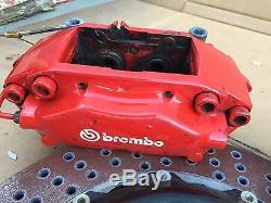 Système De Freinage Brembo Système Gt Avant Et Arrière Frein 8pot / 4pot Mbz W220 S. Classe CL