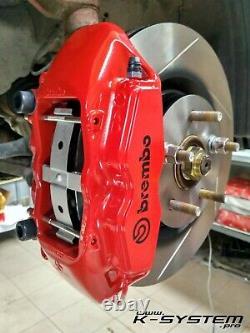 Système K. Pro Honda Accord VII & VIII / 02-15 Brembo 4-pot 324x30 Big Brake Kit