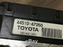 Toyota Prius Oem Hybird Abs Pompe De Frein Système Hydraulique Antiblocage 2004-2009 2