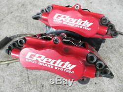 Trust Greddy Ae86 Levin Trueno 6pot Système De Freinage Avant Étrier 6mp-4600