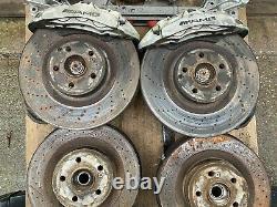 Véritable Mercedes C63 Callipers W204 C 63 Amg 6.3 V8 Front Complet + Retour