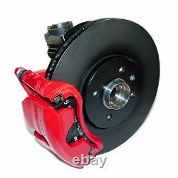 Vw Up! Jusqu'à Gti Original Brake System Front 288mm Caliper Red With Discs