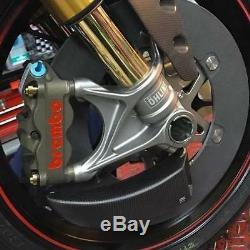 Yamaha Yzf R1 (07-16) Gp Conduits Système De Refroidissement Frein Avant Par Cnc Racing
